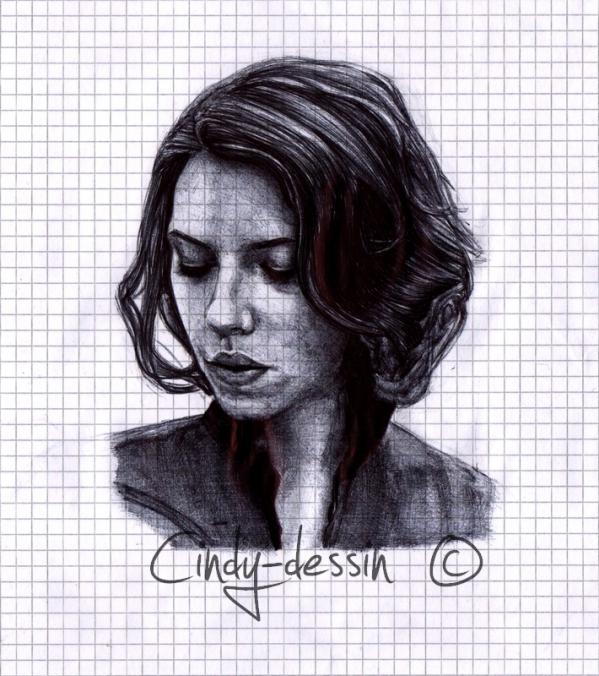 Scarlett Johansson by cindy-dessin